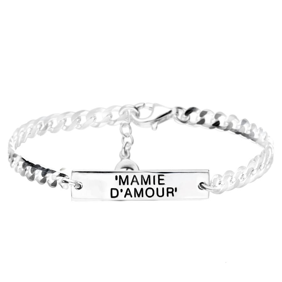 BR4614 - bracelet goumette mamie d'amour