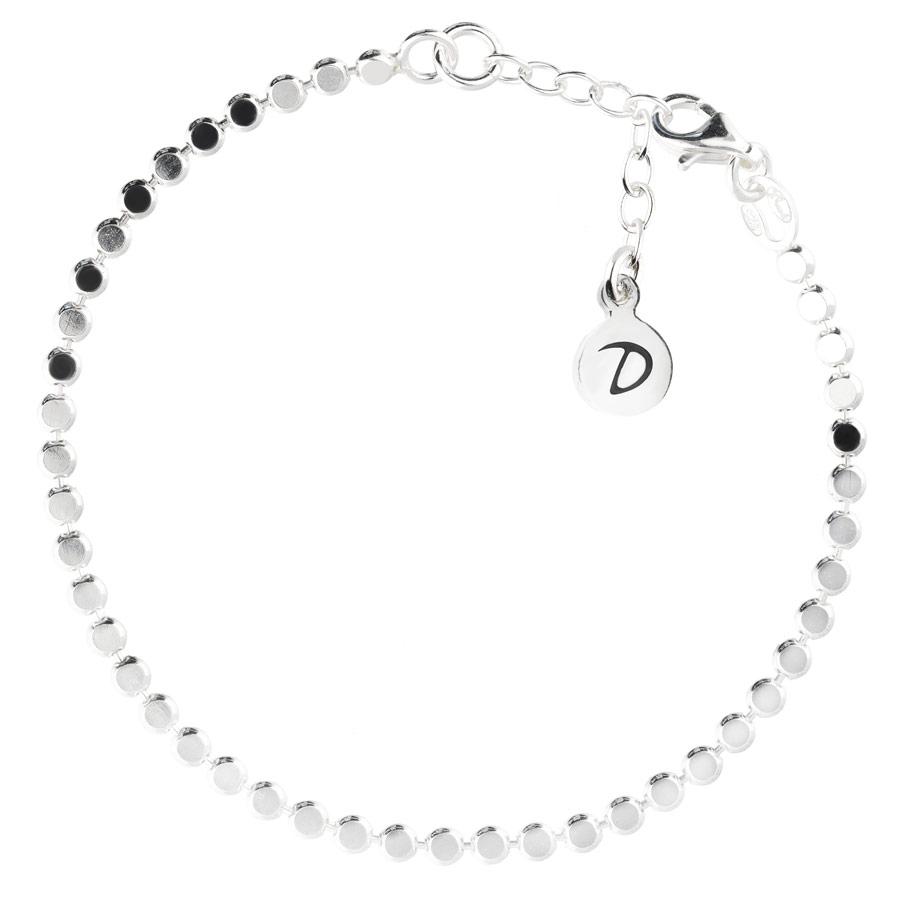 BR8412-15.5-bracelet maille ronde plate