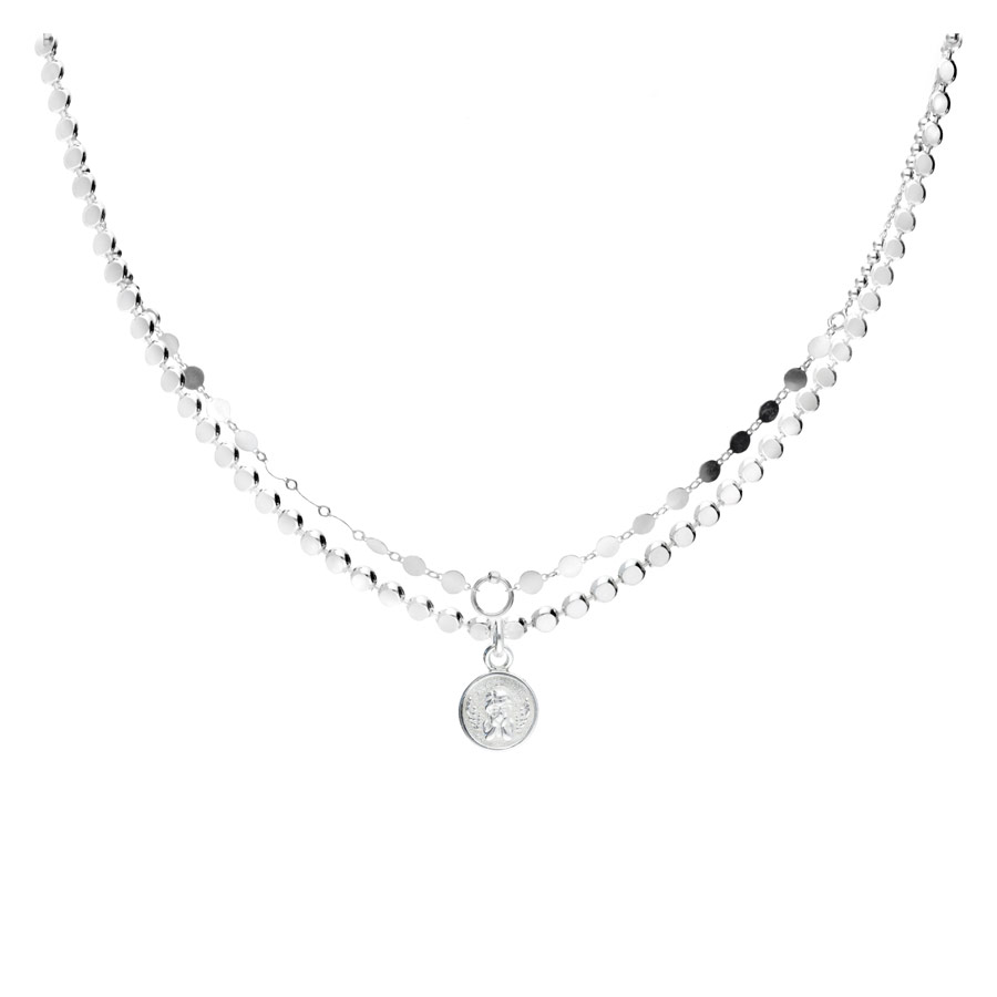 COLLIER SIXTINE DOUBLE CHAINES