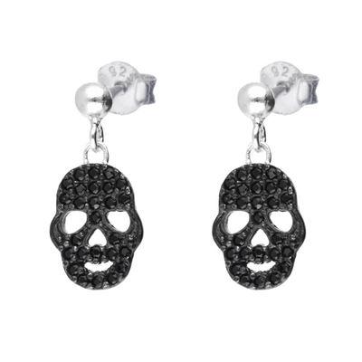 BOUCLES BLACK SKULL