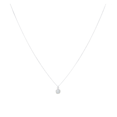 COLLIER PIANA - CARRE BLANC