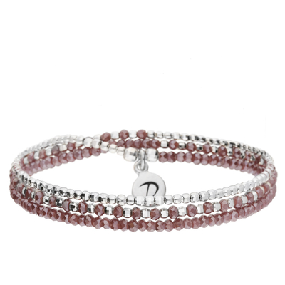 BRACELET HEAVEN VIOLET TRIPLE TOURS