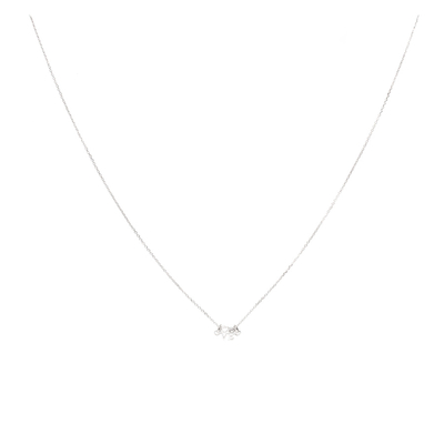 COLLIER CHAINE LOVE ET OXYDE