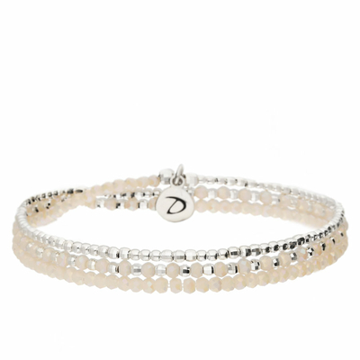 BRACELET HEAVEN CREME TRIPLE TOURS