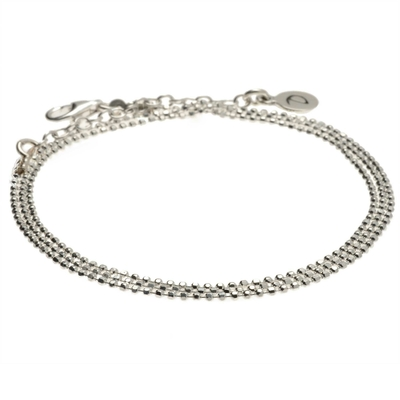 BRACELET CHAINE DIAMONDS MULTI TOURS