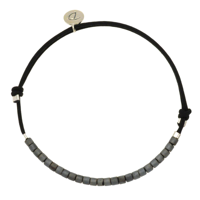 BRACELET HOMME SIMPLE MEN GREY