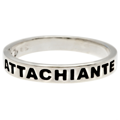 BAGUE MESSAGE ATTACHIANTE