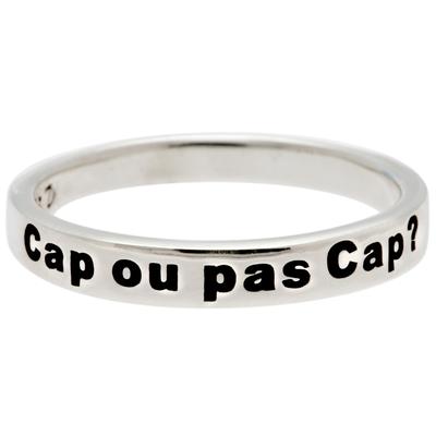 BAGUE MESSAGE CAP OU PAS CAP