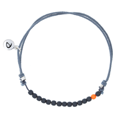 BRACELET HOMME SIMPLY MEN GREY-ORANGE
