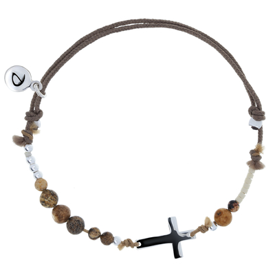 BRACELET CROSS MEN NUDE