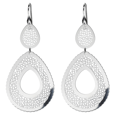 BOUCLES D'OREILLES DOUCE FOLIE ( version goutte)