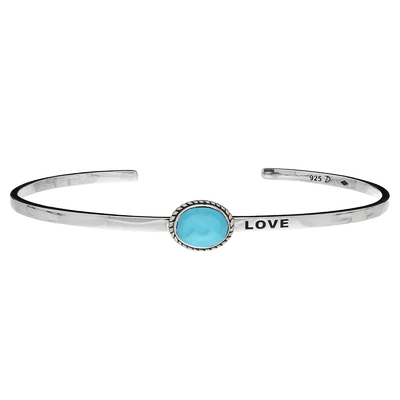 MANCHETTE TURQUOISE LOVE