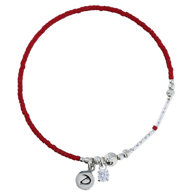 BRACELET COCKTAIL OXYDE-ROUGE