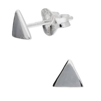 BOUCLES TRIANGLE LISSE