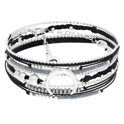 BRACELET MOONLIGHT NOIR