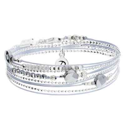 BRACELET VIRTUOSE GRIS CLAIR