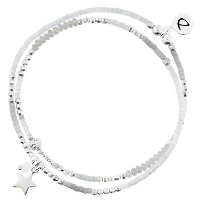 BRACELET ÉLASTIQUE SPRING GREY STAR