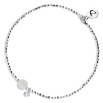BRACELET CUTE NACRE ALL SILVER