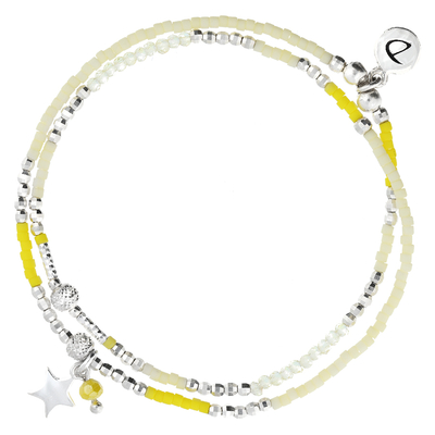 BRACELET SPRING- YELLOW STAR