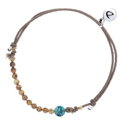 BRACELET HOMME NUDE TURQUOISE
