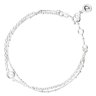 BRACELET DOUBLE CHAINES OXYDE