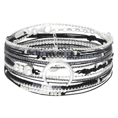 NEW BRACELET MOONLIGHT NOIR