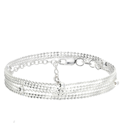 NEW BRACELET MULTI-CHAINE DOUBLE TOURS