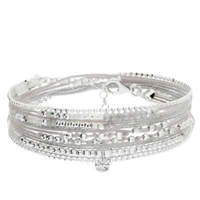BRACELET LIKE A DIAMOND GRIS CLAIR