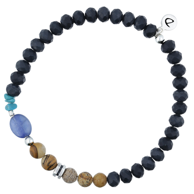 BRACELET HOMME ELASTIQUE WONDERFUL IN BLUE