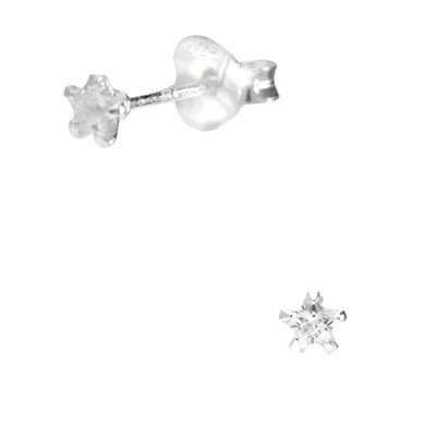 BOUCLES ETOILE OXYDE 3MM