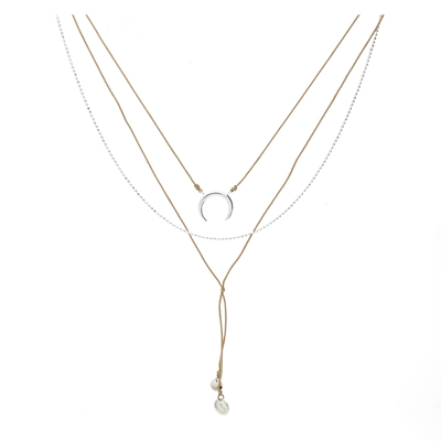 COLLIER MOONLIGHT BEIGE