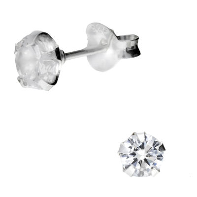BOUCLES ROND OXYDE 5MM