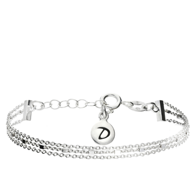 BRACELET 3 CHAINES FINES