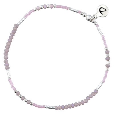 BRACELET ELASTIQUE FLUFFY ROSE