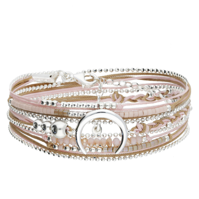 BRACELET MOONLIGHT BEIGE ROSE