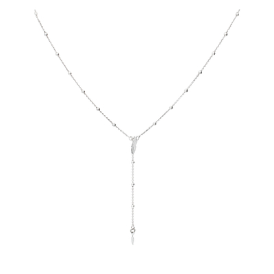 COLLIER PURE DOUBLE PETITE PLUME