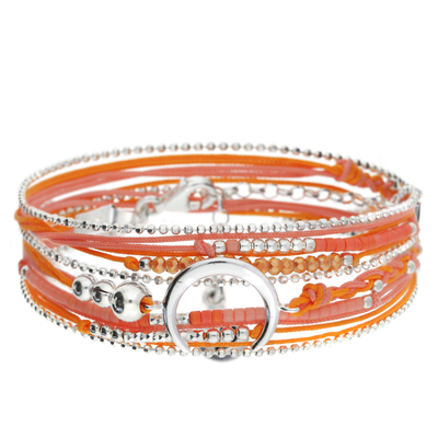 BRACELET MOONLIGHT ROSE-ORANGE