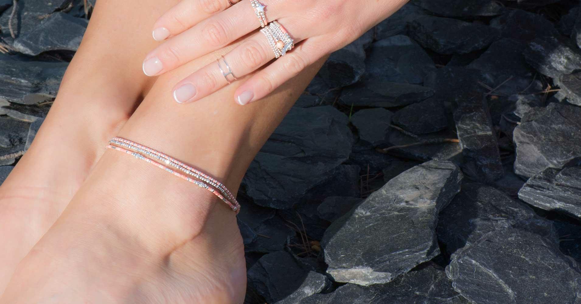 Frais BRACELETS - Bracelets de chevilles - DORIANE Bijoux FW94
