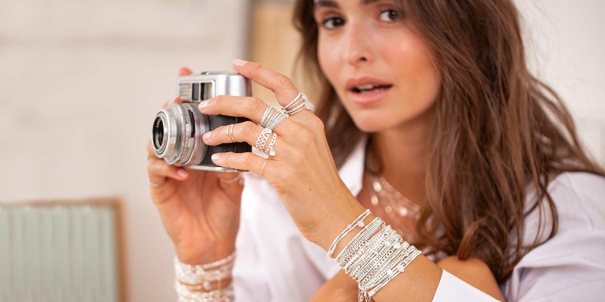 Bracelets-Argent-Fil-Elastique