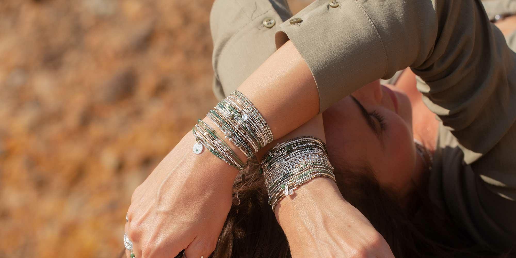 Bracelets-Argent-Multi-Tours