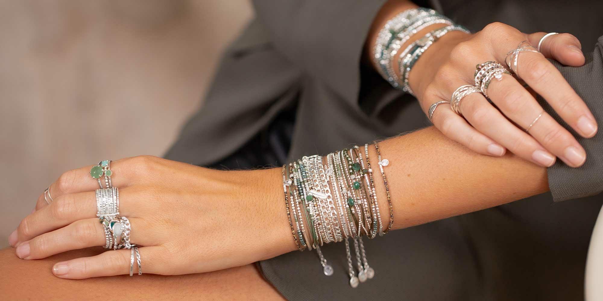 Bracelets-Chaines-Argent