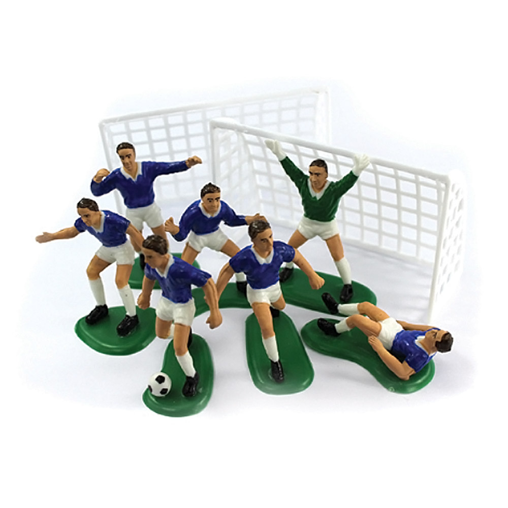 figurine footballeur deco pour gateau d 39 anniversaire foot achat. Black Bedroom Furniture Sets. Home Design Ideas