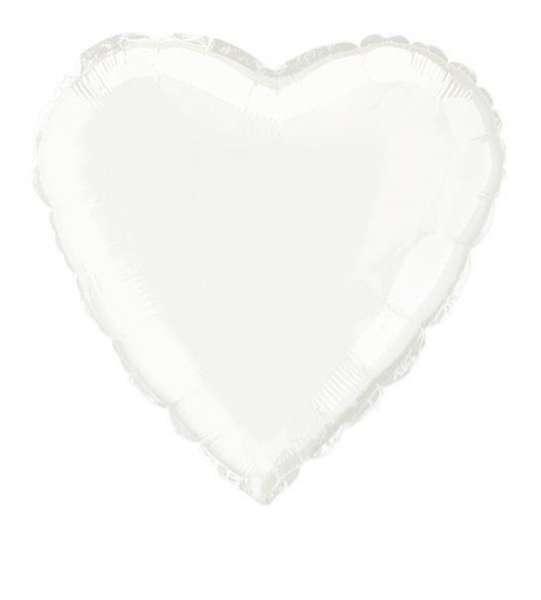Ballon mylar coeur plusieurs couleurs