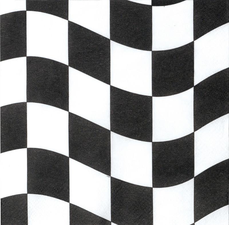18  serviettes jetables Formule 1