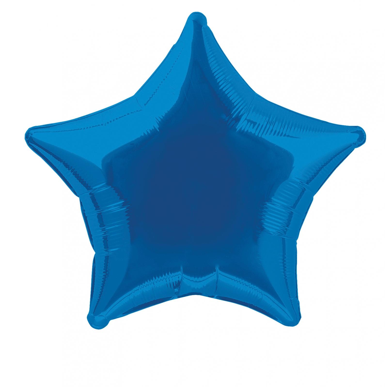 ballon-mylar-etoile-bleu