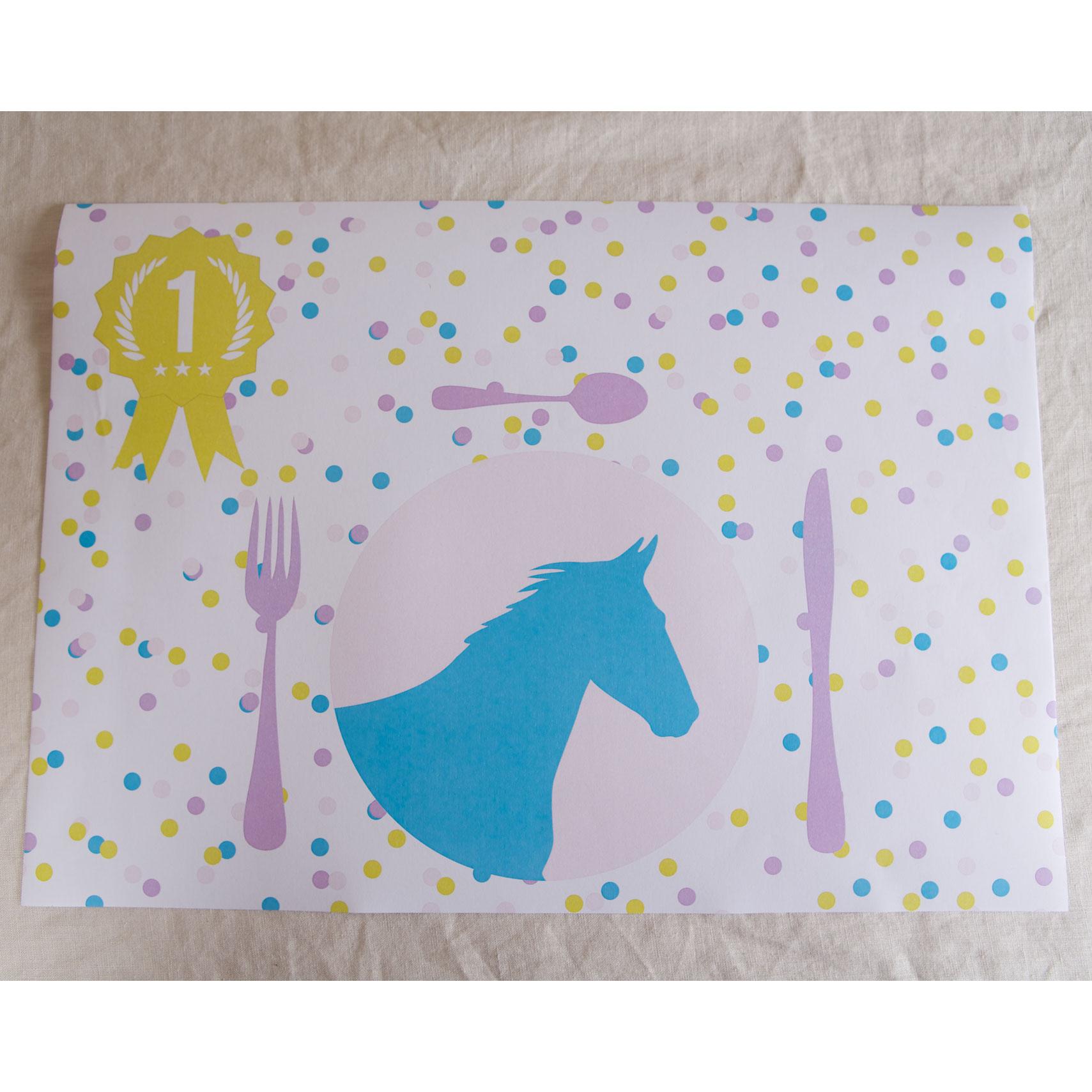 anniversaire cheval bleu