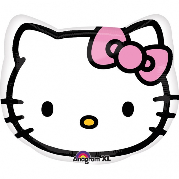 Ballon mylar t te hello kitty deco anniversaire sweet - Tete hello kitty ...