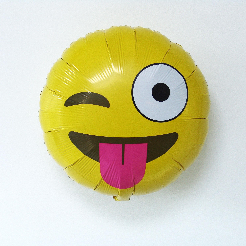 Ballon emoji clin d\'oeil