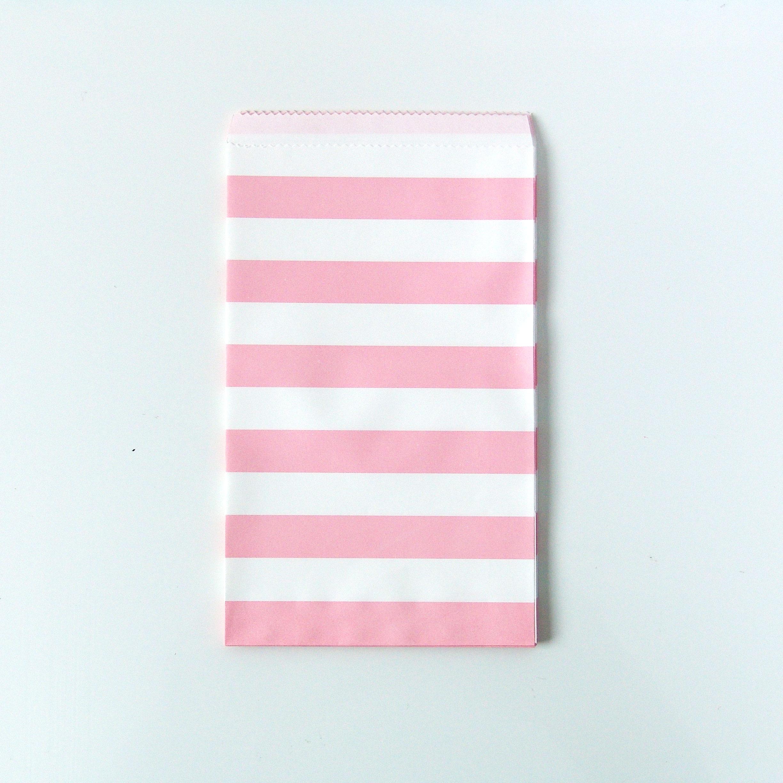Pochette cadeaux invit en papier ray rose clair achat - Pochette en papier ...