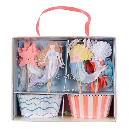 Kit cupcake sirène